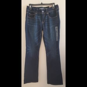 NWT American Eagle Kick Boot Stretch Jeans Size 8